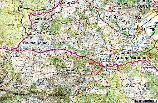 RP-04  Bigorre, St-Lary-Soulan 1:50.000 9782344008065  Rando Editions Randonnées Pyrénéennes  Wandelkaarten Franse Pyreneeën