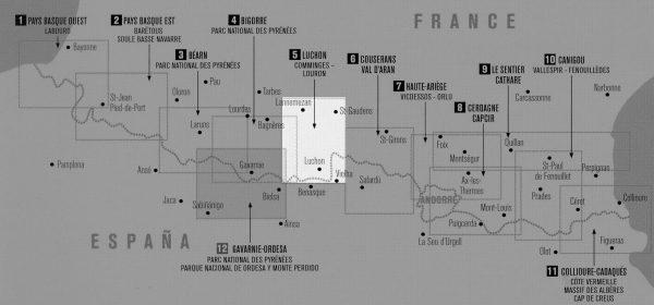 RP-05  Luchon, Bagnères-de-Luchon 1:50.000 9782344013366  Rando Editions Randonnées Pyrénéennes  Wandelkaarten Franse Pyreneeën