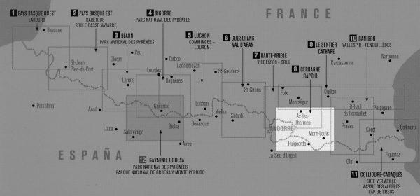 RP-08  Cerdagne/ Capcir 1:50.000 9782344013373  Rando Editions Randonnées Pyrénéennes  Wandelkaarten Franse Pyreneeën