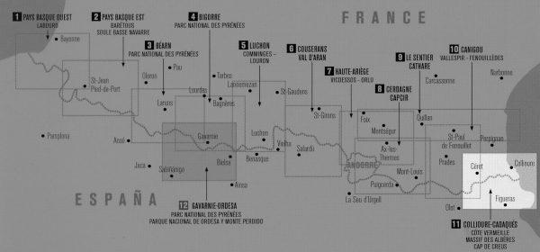 RP-11  Collioure, Cadaqués, Côte Vermeille 1:50.000 9782344021316  Rando Editions Randonnées Pyrénéennes  Wandelkaarten Franse Pyreneeën