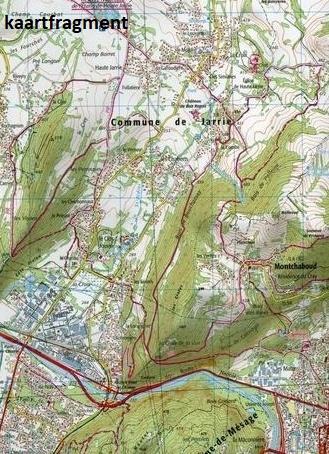 3335OT  Grenoble, Chamrousse | wandelkaart 1:25.000 9782758535089  IGN IGN 25 Franse Alpen/ Nrd.helft  Wandelkaarten Franse Alpen: noord