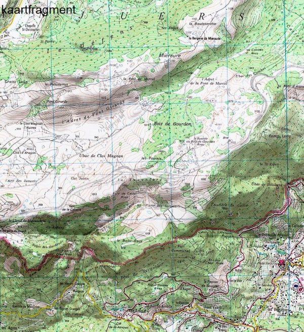 3543OT omgeving Draguignan | wandelkaart 1:25.000 9782758535157  IGN IGN 25 Franse Alpen/ zuidhelft  Wandelkaarten Franse Alpen: zuid