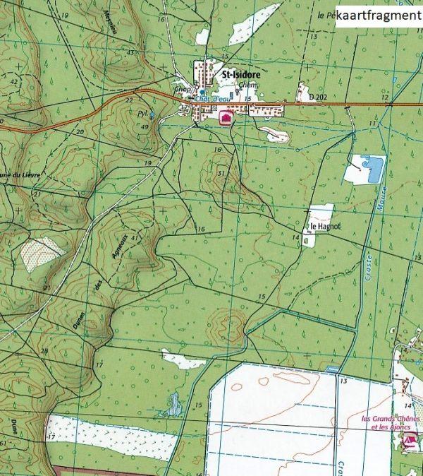 wandelkaart 1434OT Lac d'Hourtin et de Carcans 1:25.000 9782758536925  IGN IGN 25 Aquitaine  Wandelkaarten Aquitaine, Bordeaux