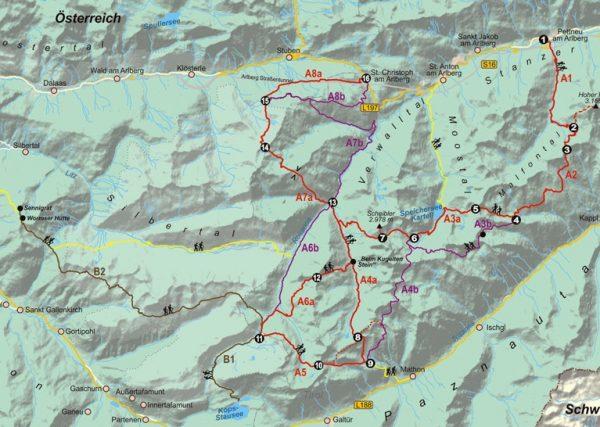 Verwallrunde   wandelgids (Duitstalig) 9783866865280  Conrad Stein Verlag Outdoor - Der Weg ist das Ziel  Meerdaagse wandelroutes, Wandelgidsen Vorarlberg