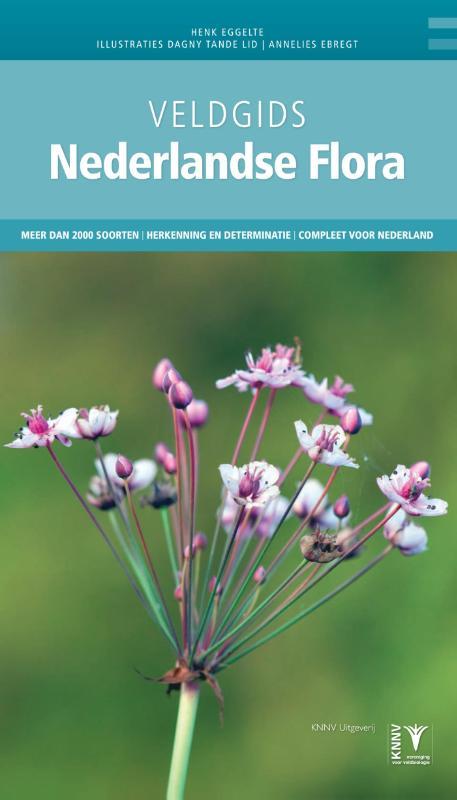 Veldgids Nederlandse Flora 9789050114912 Eggelte KNNV Veldgidsen  Natuurgidsen, Plantenboeken Nederland