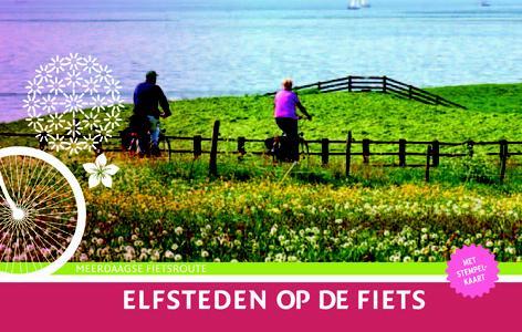 Elfstedenfietsroute | fietsgids 9789058818423  Buijten & Schipperheijn meerdaagse fietsroutes (NL)  Fietsgidsen, Meerdaagse fietsvakanties Friesland