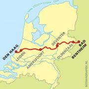 LAW 3  Marskramerpad (E11) 9789071068935  Wandelnet LAW-Gidsen  Meerdaagse wandelroutes, Wandelgidsen Oost Nederland, West Nederland