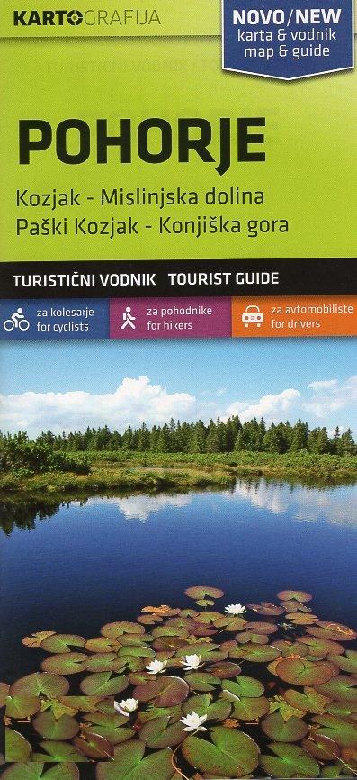 Pohorje | wandelkaart 1:40.000 3830048522526  Kartografija   Wandelkaarten Slovenië
