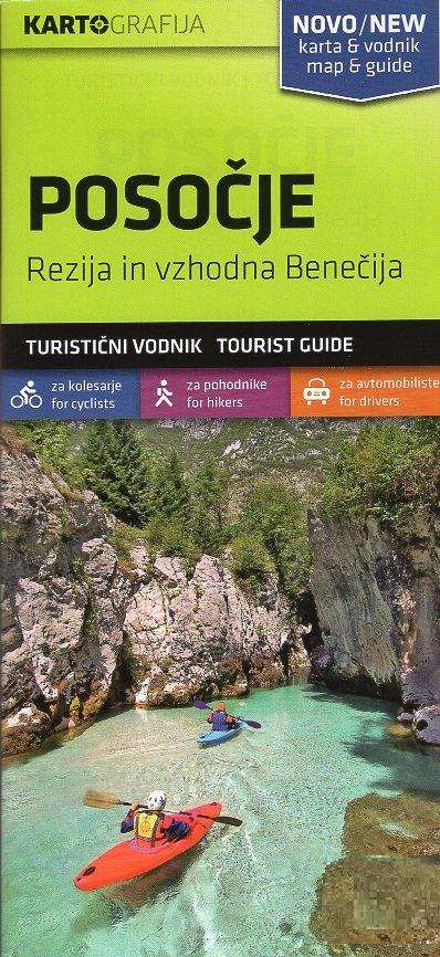 Posocje   wandelkaart 1:40.000 3830048522540  Kartografija   Wandelkaarten Slovenië