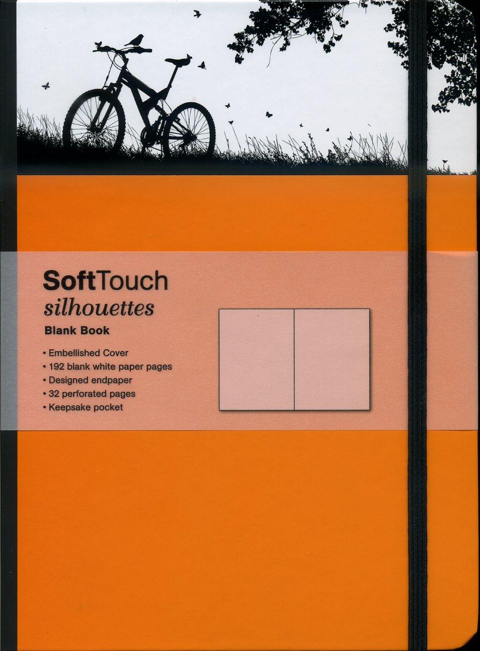SoftTouch Silhouettes Bike 16x22cm 4002725260918  TeNeues   Reisverhalen Reisinformatie algemeen