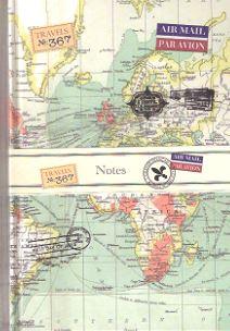 Robert Frederick Vintage Maps Notebook 5051237039559  Veltman Reisdagboeken  Reisgidsen Reisinformatie algemeen