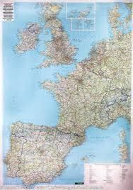 West-Europa planokaart 1:2.000.000 5425013060844  Freytag & Berndt   Wandkaarten Europa