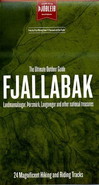 Fjallabak 1:100.000 5694230025145  Sögur Publishing House   Wandelkaarten IJsland