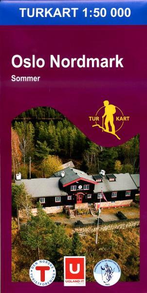UG-2423  Oslo Nordmark sommerutgave | topografische wandelkaart 1:50.000 7046660024232  Nordeca / Ugland Turkart Norge 1:50.000  Wandelkaarten Zuid-Noorwegen