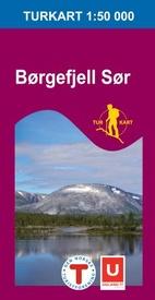 UG-2619 Børgefjell Sør 1:100.000 7046660026199  Nordeca / Ugland Turkart Norge 1:100.000  Wandelkaarten Noorwegen boven de Sognefjord