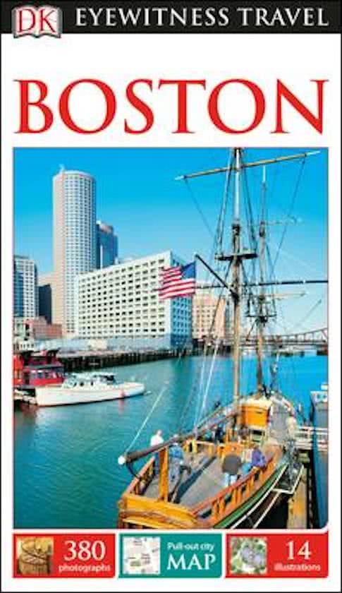 Boston (Capitool Engels) 9780241275382  Dorling Kindersley Eyewitness Guides  Reisgidsen New England