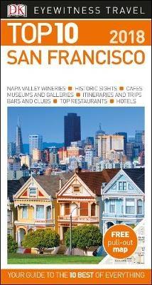 San Francisco 9780241277201  Dorling Kindersley Eyewitness Top 10 Guides  Reisgidsen California, Nevada