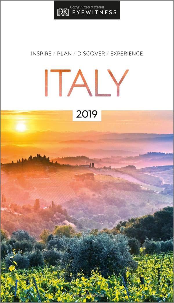 Italy Eyewitness Guide 9780241311820  Dorling Kindersley Eyewitness Guides  Reisgidsen Italië