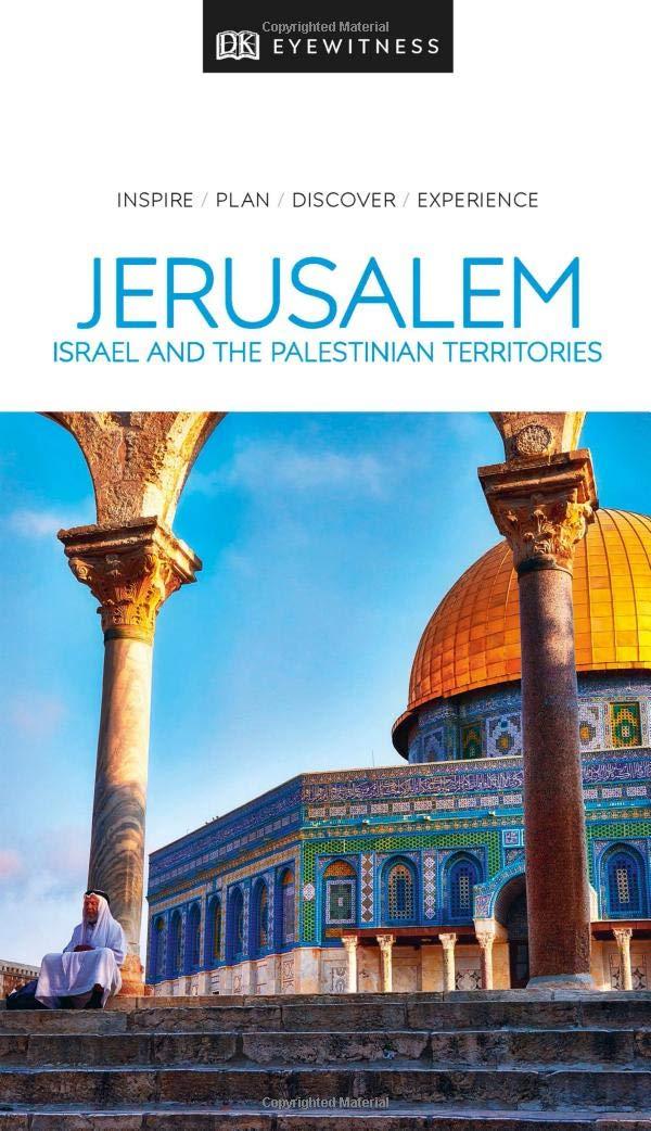 Jerusalem Israel Petra + Sinai 9780241360057  Dorling Kindersley Eyewitness Guides  Reisgidsen Midden-Oosten
