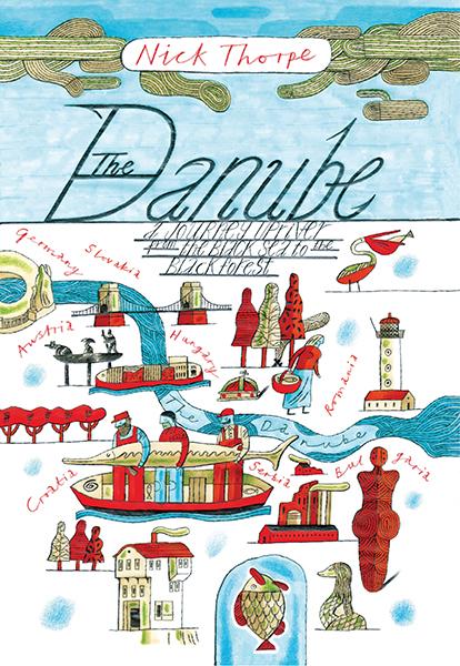 The Danube 9780300205459 Nick J. Thorpe Yale University Press   Reisverhalen Europa