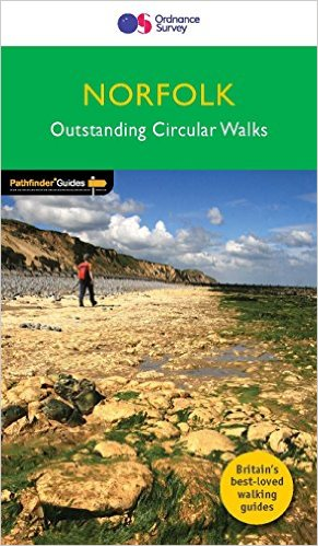 PG-45  Norfolk Walks | wandelgids 9780319090152  Crimson Publishing / Ordnance Survey Pathfinder Guides  Wandelgidsen Oost-Engeland, Lincolnshire, Norfolk, Suffolk, Cambridge