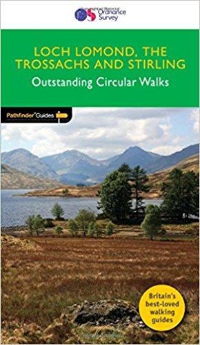 PG-23  Loch Lomond + the Trossachs Walks | wandelgids 9780319090190  Crimson Publishing / Ordnance Survey Pathfinder Guides  Wandelgidsen de Schotse Hooglanden (ten noorden van Glasgow / Edinburgh)