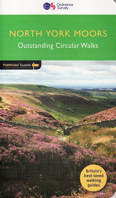 PG-28  North York Moors | wandelgids 9780319090251  Crimson Publishing / Ordnance Survey Pathfinder Guides  Wandelgidsen Northumberland, Yorkshire Dales & Moors, Peak District, Isle of Man