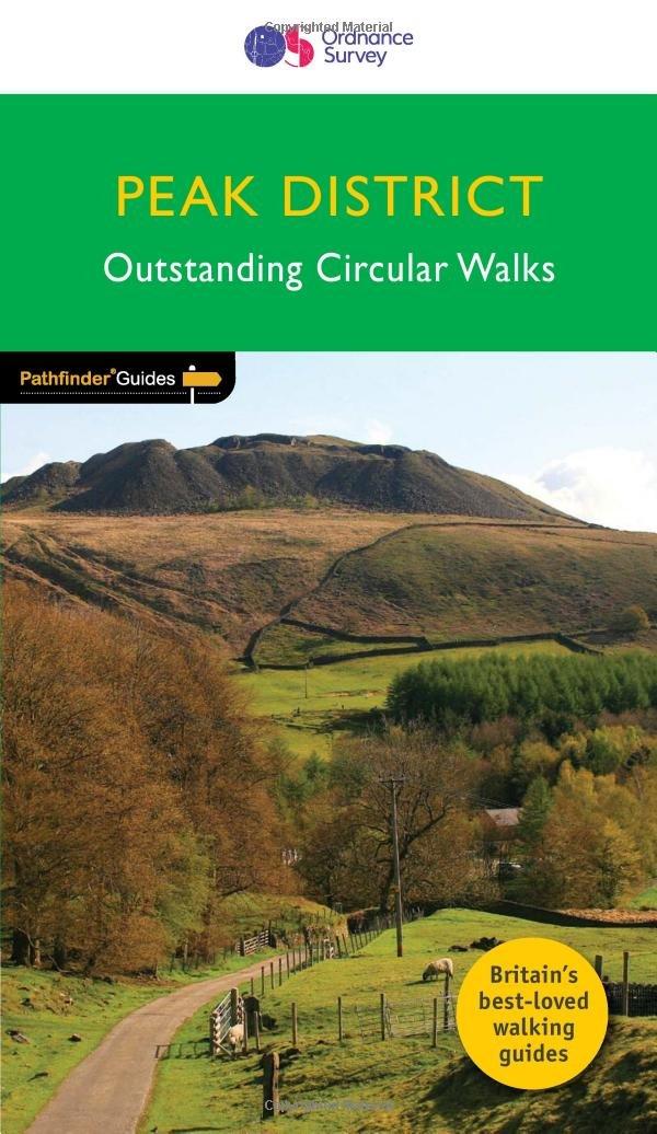 PG 63 Peak District | wandelgids 9780319090275  Crimson Publishing / Ordnance Survey Pathfinder Guides  Wandelgidsen Northumberland, Yorkshire Dales & Moors, Peak District, Isle of Man