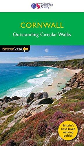PG-05  Cornwall | wandelgids 9780319090299  Crimson Publishing / Ordnance Survey Pathfinder Guides  Wandelgidsen Cornwall, Devon, Somerset, Dorset