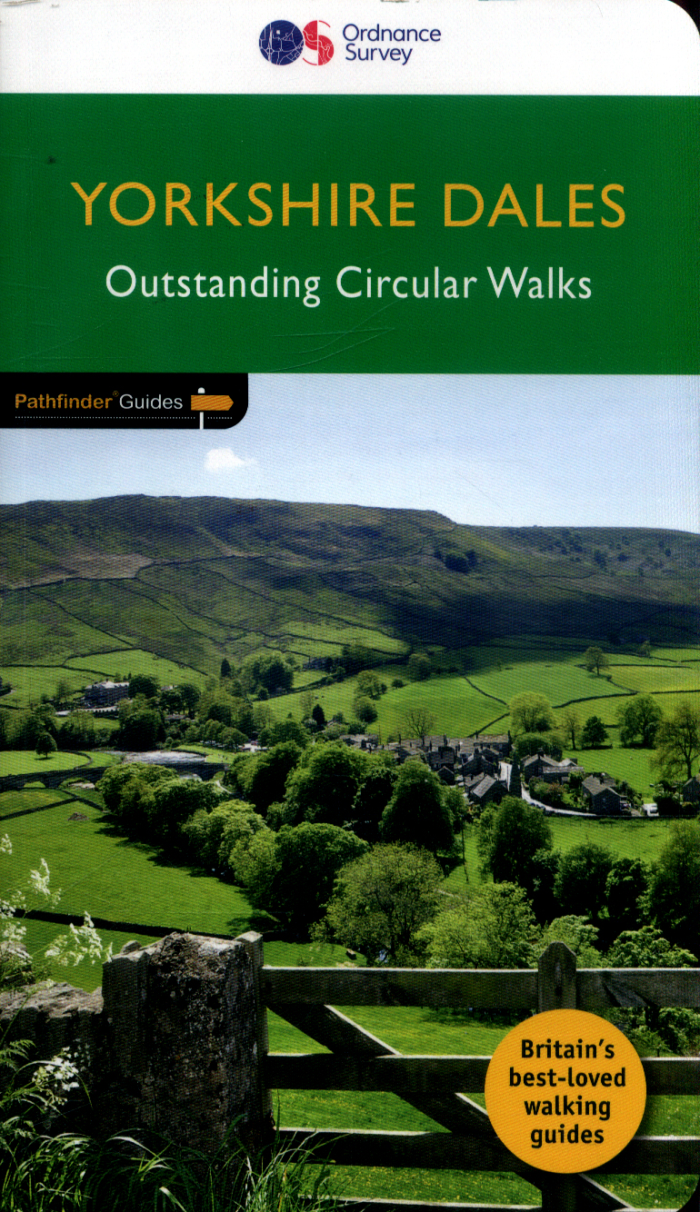PG-15  Yorkshire Dales Walks | wandelgids 9780319090404  Crimson Publishing / Ordnance Survey Pathfinder Guides  Wandelgidsen Northumberland, Yorkshire Dales & Moors, Peak District, Isle of Man