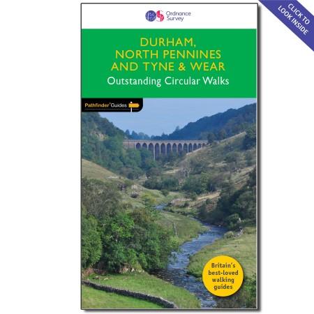 PG-39  Durham, North Pennines, Tyne + Wear | wandelgids 9780319090411  Crimson Publishing / Ordnance Survey Pathfinder Guides  Wandelgidsen Northumberland, Yorkshire Dales & Moors, Peak District, Isle of Man