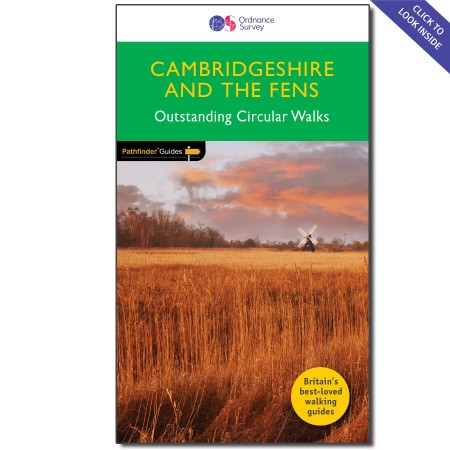 PG-51 Cambridgeshire & The Fens | wandelgids 9780319090794  Crimson Publishing / Ordnance Survey Pathfinder Guides  Wandelgidsen Oost-Engeland, Lincolnshire, Norfolk, Suffolk, Cambridge