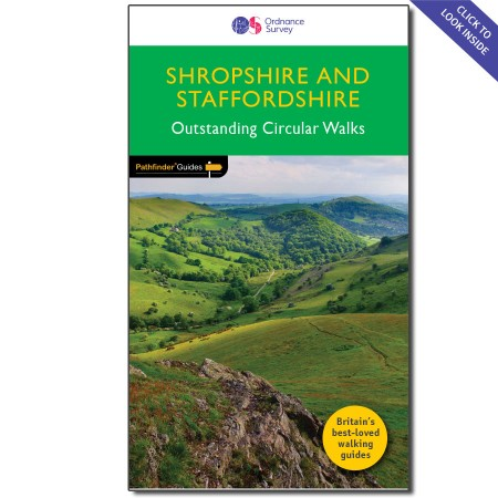 PG-14  Shropshire & Staffordshire | wandelgids 9780319090855  Crimson Publishing / Ordnance Survey Pathfinder Guides  Wandelgidsen Midlands, Cotswolds, Oxford
