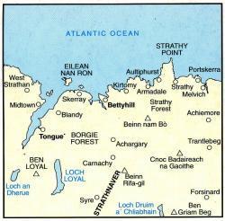 LR-010  Strathnever | topografische wandelkaart 9780319226100  Ordnance Survey Landranger Maps 1:50.000  Wandelkaarten de Schotse Hooglanden (ten noorden van Glasgow / Edinburgh)
