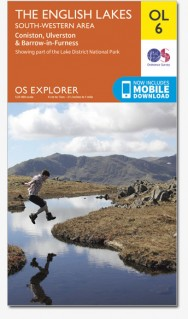 EXP-006  English Lakes - South West  OL6 | wandelkaart 1:25.000 9780319242452  Ordnance Survey Explorer Maps 1:25t.  Wandelkaarten Lake District