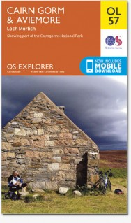 EXP-403 Cairn Gorm, Aviemore (OL-57)  | wandelkaart 1:25.000 9780319242964  Ordnance Survey Explorer Maps 1:25t.  Wandelkaarten de Schotse Hooglanden (ten noorden van Glasgow / Edinburgh)