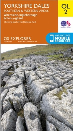 EXP-002  Yorkshire Dales, Southern & Western areas | wandelkaart 1:25.000 9780319263310  Ordnance Survey Explorer Maps 1:25t.  Wandelkaarten Northumberland, Yorkshire Dales & Moors, Peak District, Isle of Man