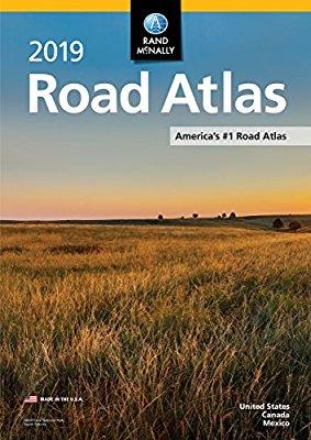 Rand McNally Road Atlas 2019 9780528019593  Rand McNally Wegenatlassen  Wegenatlassen Verenigde Staten