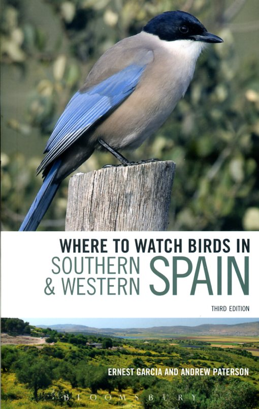 In Southern en Western Spain 9780713683158  Christopher Helm Where to watch birds  Natuurgidsen, Vogelboeken Spanje