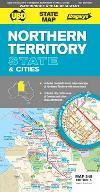 Northern Territory State & Cities 9780731928330  UBD   Landkaarten en wegenkaarten Australië