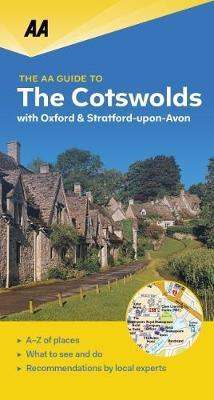 The Cotswolds - leisure guide 9780749579418  AA Leisure Guides  Reisgidsen Lincolnshire, Norfolk, Suffolk, Cambridge