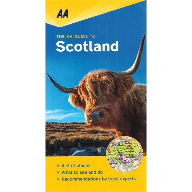 Scotland - leisure guide 9780749579463  AA Leisure Guides  Reisgidsen Schotland