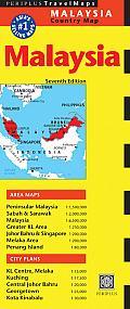 Malaysia 1:2.300.000 9780794607043  Periplus   Landkaarten en wegenkaarten Maleisië en Brunei