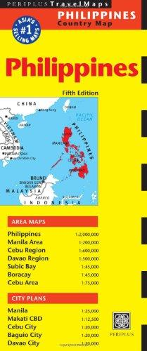 Philippines 9780794607296  Periplus Periplus Travel Maps  Landkaarten en wegenkaarten Filippijnen