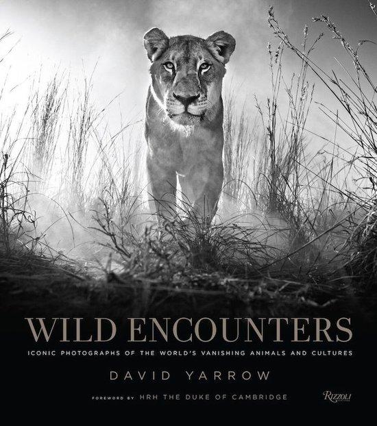 Wild Encounters: David Yarrow 9780847858323 David Yarrow Rizzoli   Fotoboeken, Natuurgidsen Wereld als geheel