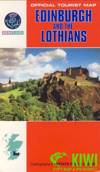 EP 182  Edinburgh + the Lothians 1:150.000 9780860846208  Estate Publications Official Tourist Map  Landkaarten en wegenkaarten Edinburgh