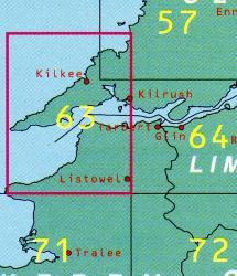 DM-63 9780904996791  Ordnance Survey Ireland Discovery Maps 1:50.000  Wandelkaarten Munster, Cork & Kerry