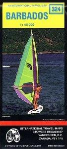 Barbados | wandelkaart, autokaart 1:45.000 9780921463320  ITM   Landkaarten en wegenkaarten Overig Caribisch gebied