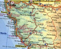 Mexico North  | landkaart, autokaart 1:1.350.000 9780921463887  ITM   Landkaarten en wegenkaarten Mexico behalve Yucatan