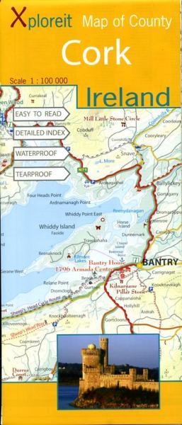 County Cork | overzichtskaart 1:100.000 9780955265525  Xploreit   Landkaarten en wegenkaarten Munster, Cork & Kerry